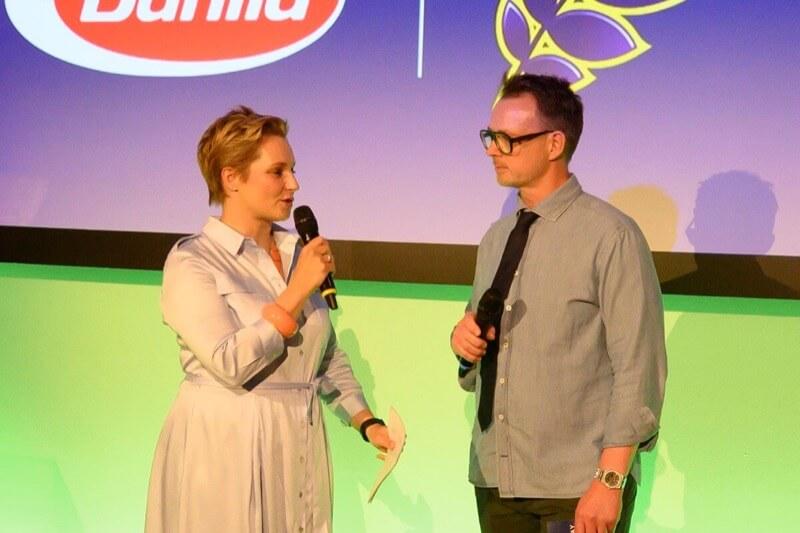 Janine Steeger and Holger Stromberg